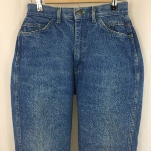 Vintage Lee High Waisted Jeans 11 Med.